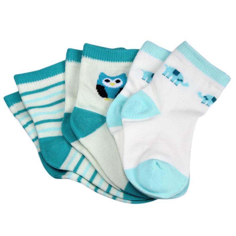 Amazing Cotton Baby Socks Newborn Floor Socks for Baby Girl Boy S M Size Hot