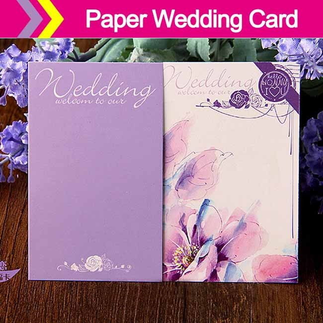 2015 new arrived attractive custom made wedding invitation cards latest wedding card designs