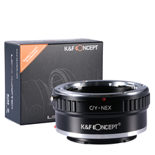 Buy K&F Concept Adapter Ring C Y Sony E Lens Mount Adapter Contax Yashica C/Y CY Lens Sony Alpha NEX E-Mount Camera for $19.89 in AliExpress store