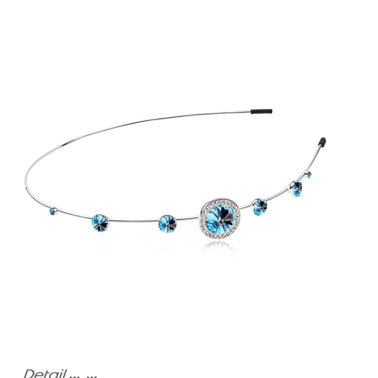 Tiara Noiva Crystal Hair Bands Jewelry ZC Made with Genuine SWAROVSKI ELEMENTS Hair Accessories Silver Women(China (Mainland))