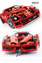 2016 NEW Decool 1:10 Building Blocks Toy Car F1 Racing Model Supercar 599GTB Assemblage Brain Game Legoe Gift - Eybetter Toys store