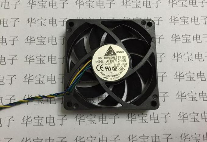7015 Delta cooling fan AFB0712HHB DC12V 0.45A 7cm size 70mm*70mm*15mm