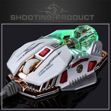 Buy Professional Wired 4000dpi mouse Adjustment USB Optical LED Gaming Mouse Mice Computer PC Laptop Dota cs go gamer for $66.13 in AliExpress store
