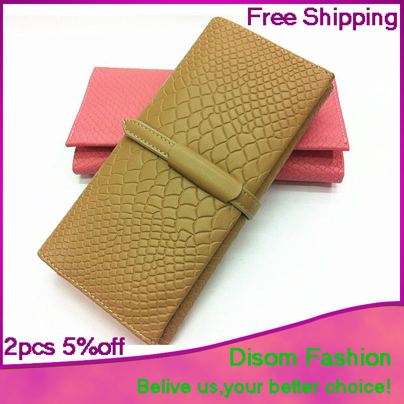 New Arrival 2015 Fashion band wallet Famous Brand long style leather wallets hot selling womens wallets and purses free shipping(China (Mainland))