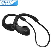 Psttl Sweatproof Wireless Bluetooth Earphone in ear Apt-x Hifi Sports Earbud Running stereo Headphone handfree Headset for phone(China (Mainland))