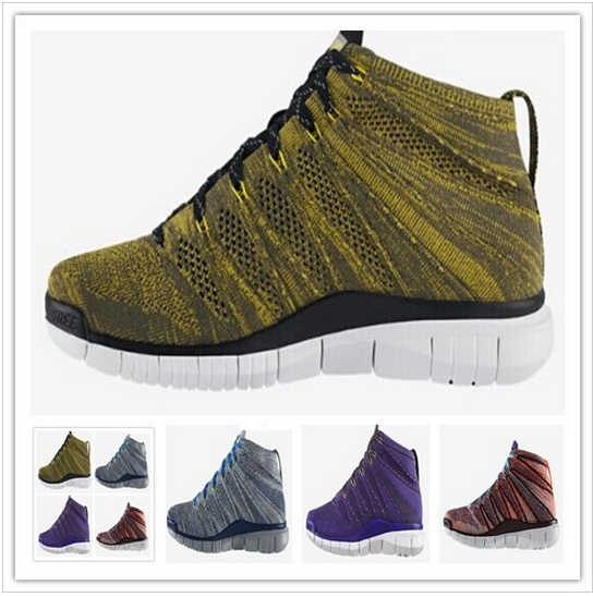 Hot sale men fly Running Shoes knit sports shoes chukka shoes free shipping size 40-45(China (Mainland))