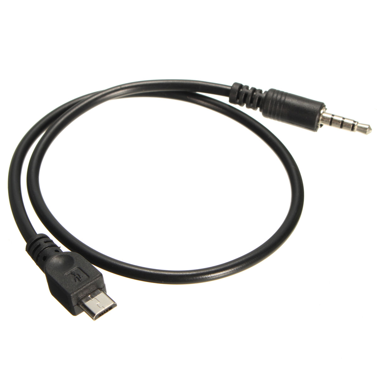 40cm Micro USB 2 0 to 3 5mm AUX Car Lead Jack USB Audio Cable Cord