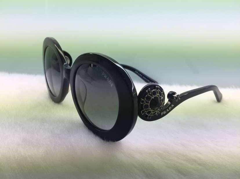 Limited!! Brand Fashion 27QS Original Sunglass Acetata Rould Full rim Women sunglass 55-22-135 With Original Case