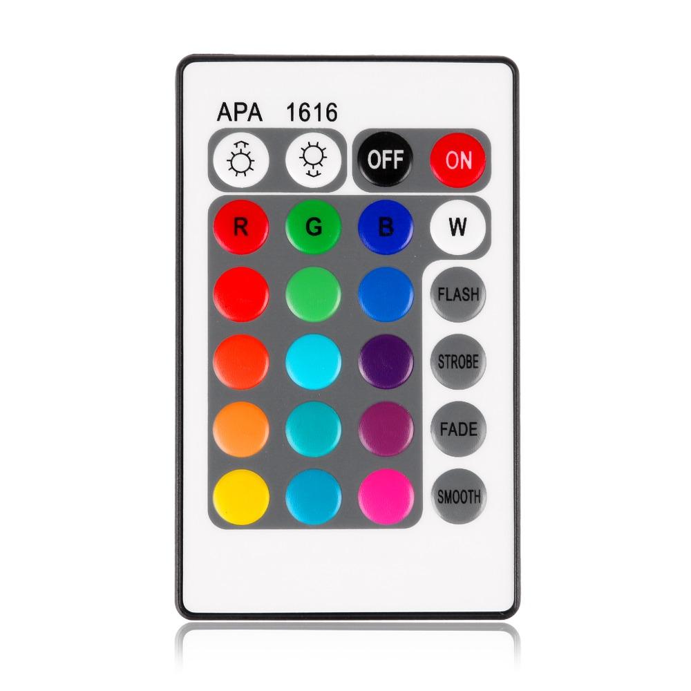 New Brand 1pcs 12V 6A 24 Key MINI IR Remote rgb led Controller for Flexible SMD3528 5050 5630 2835 RGB LED SMD Strip Lights(China (Mainland))