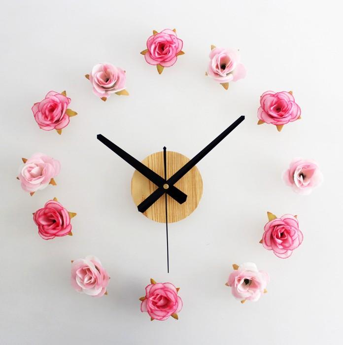 Декор настенных часов своими руками фото