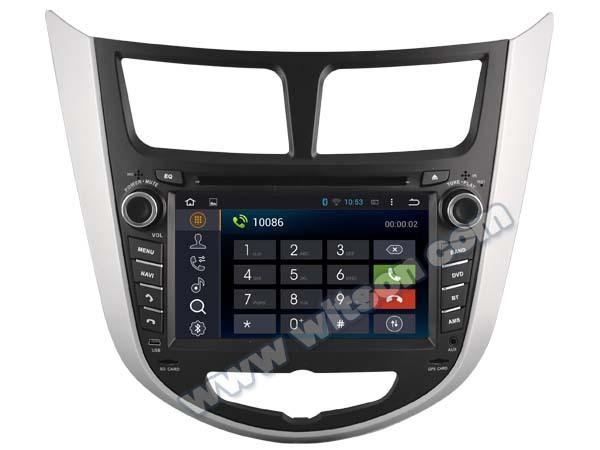 "7"" Android 4.4.4 OS Car DVD for Hyundai Verna 2010/2011/2012 & Hyundai Solaris 2010/2011/2012 & Hyundai Accent 2010/2011/2012(China (Mainland))"