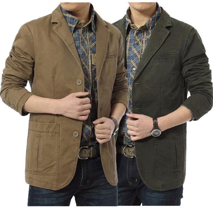 2016 Autumn New Men Blazer Fashion Slim Casual Blazer For Men Brand Mens Suit Designer Jacket ...