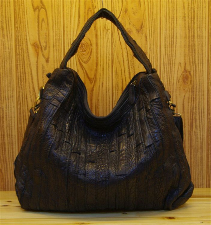 Здесь можно купить  Recreation woven leather stripe the retro baotou characteristic bag shoulder his personality leather ladies bags  Камера и Сумки