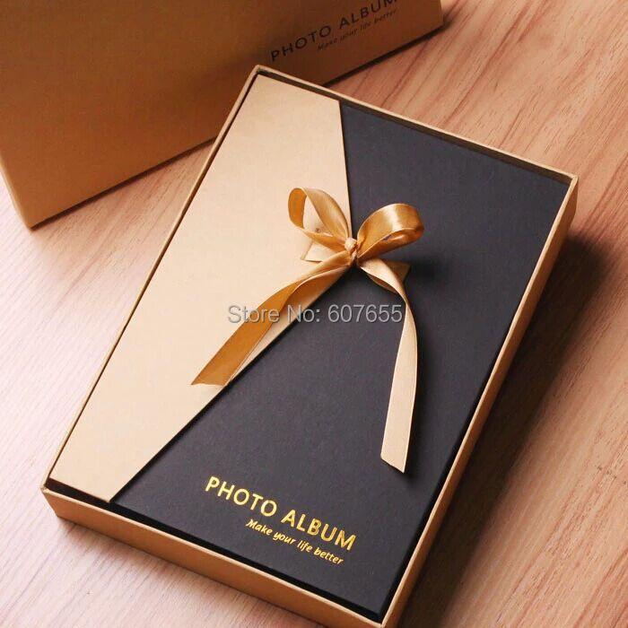 bricolage photo album scrapbooking haut de gamme cadeau de ruban bo te de fil reliure valentine. Black Bedroom Furniture Sets. Home Design Ideas