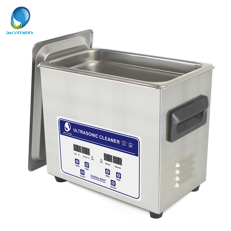 Digital Heated Ultrasonic Cleaner Cleaning 3.2L Tank Basket Watche Dental 120W 40kHz Ultrasound Cleaner Industry Ultrasonic Bath(China (Mainland))