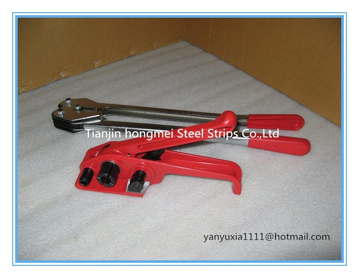 !SD330 Manual PET PP Plastic Strapping Tool ,Strapping Tensioner Sealer 13/16/19mm Poly Strap - Tianjin Hongmei Steel Strips Co., Ltd. store