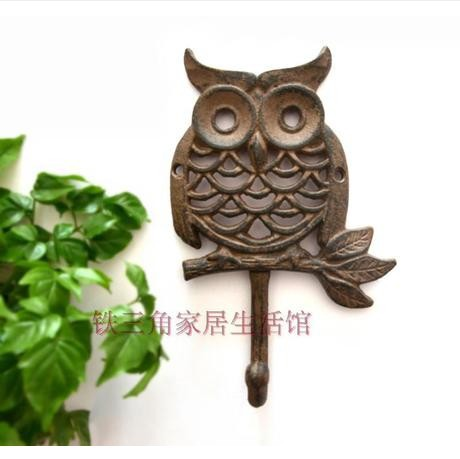 Buy 040358 Decor Hook Owl Cast Iron Coat: cute coat hooks