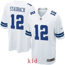 100% Elite men Dallas Cowboys WOMEN YOUTH KIDS HOT SALE NEW FAST SHIPPING 12 Roger Staubach(China (Mainland))