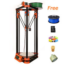 High Accuracy Large Size 3d printer dlp with one roll Filament 8GB SD card LCD masking tape for Free