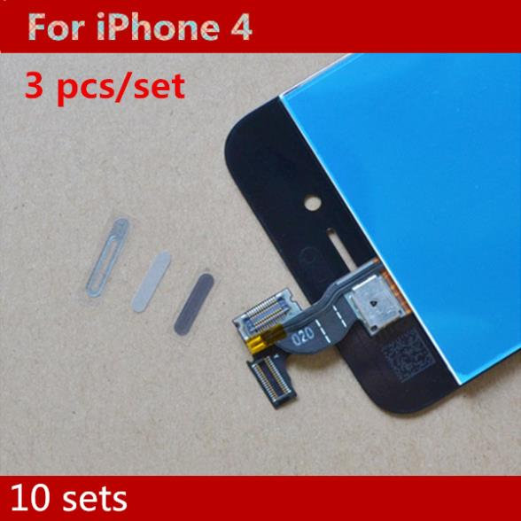 New Original Earpiece Speaker Dust Gauze and Self Adhesive Cover Anti-Dust Mesh for iPhone 4 4G 4s,10 sets/lot