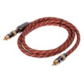 1PC 1 5m High Performance Digital Coaxial Interconnect Cable Audio Video RCA Cable Male to Male