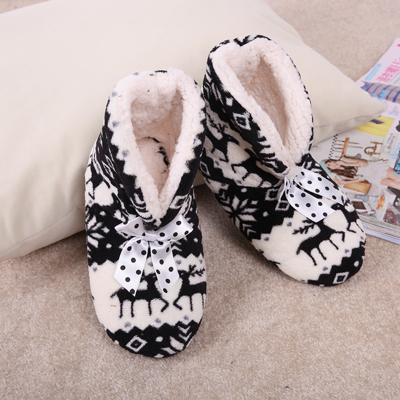 Women's Warm Winter Cotton Boots / Shoes. Comfortable Home Soft Padded Shoes Floor Socks Indoor Many styles - SuiHyung-Bag store