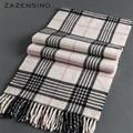 180 32CM 100 Wool Plaid Tassel Men Women Scarf Shawls 2016 Luxury Brand Poncho Wraps New
