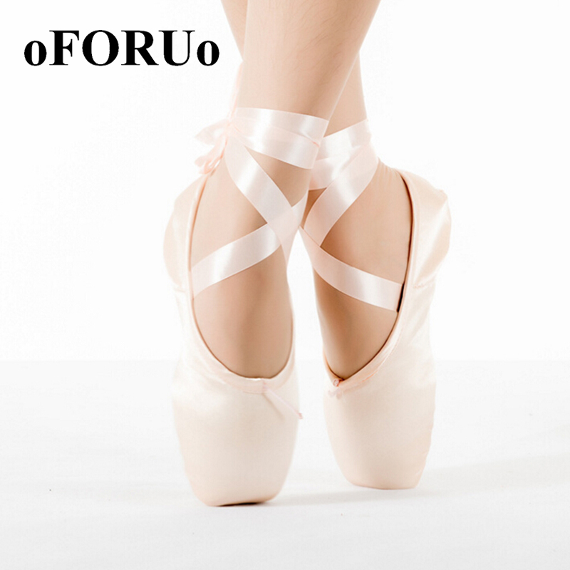2016 Child and Adult ballet pointe dance shoes ladies professional ballet dance shoes with ribbons shoes woman dance shoes SP666(China (Mainland))