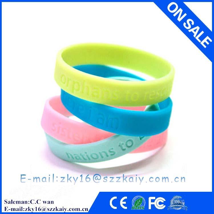 ZKY-0015 Silicone Rubber Basketball Baseball Football Running Wristband Bracelet, Reversible Witness Band Silicone Bracelet(China (Mainland))