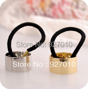 Min order is $10(mix order) Quality hair bands metal ring headband vintage elastic punk hair rope accessories  headbands