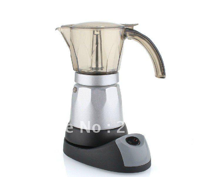 Mocha Espresso Maker ~ Vautomatic electric stovetop moka espresso coffee maker