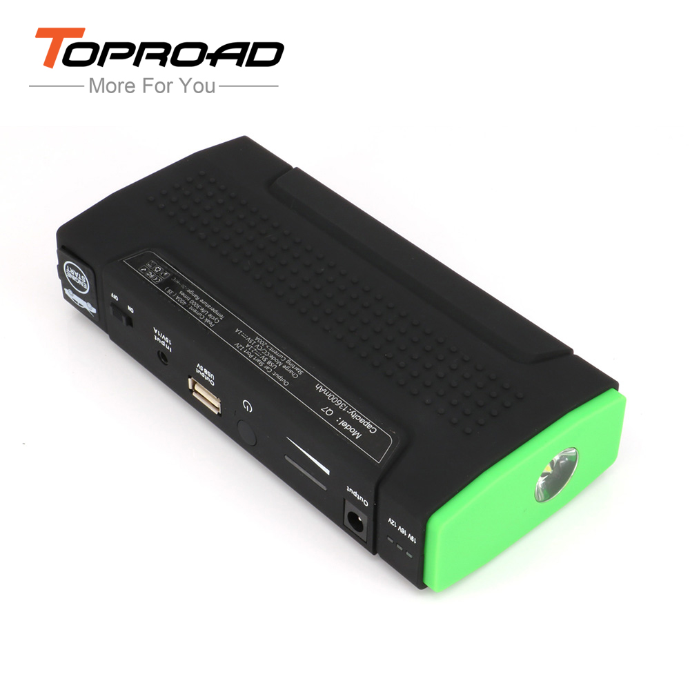 Super Car Emergency Jump Starter 13600mAh Auto Engine EPS Booster Start Battery Source Laptop Portable Charger Mobile Power Bank(China (Mainland))