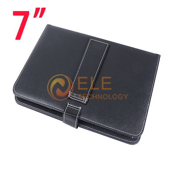 7 inch english leather case for tablet pc high quality