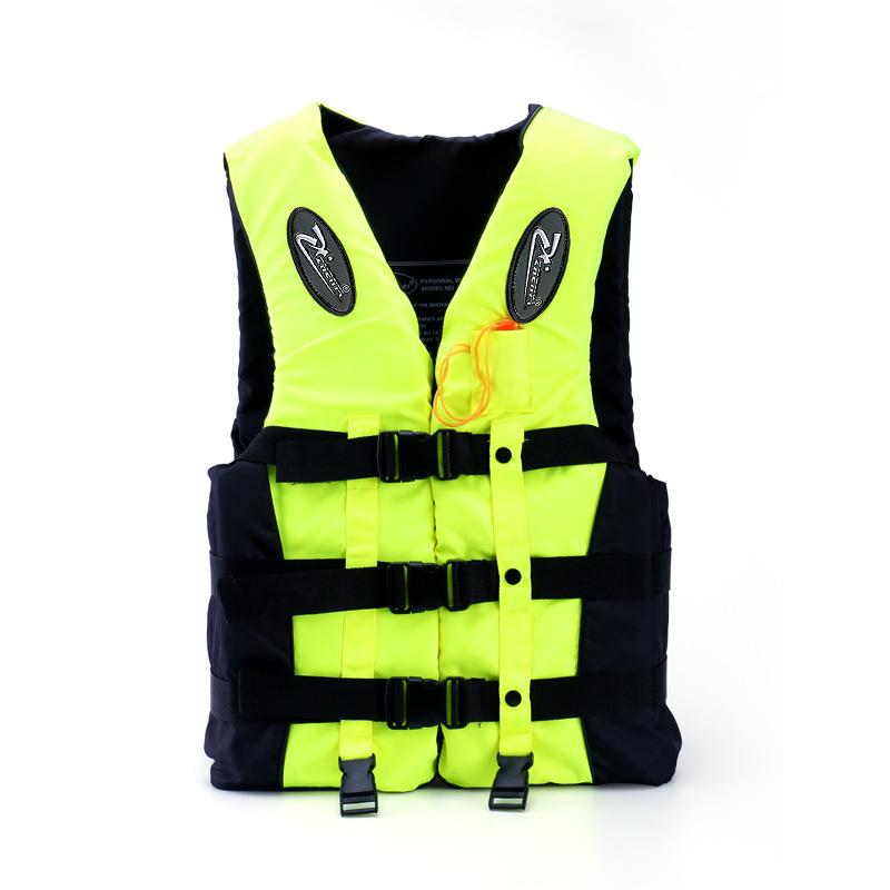 Outdoor Life Vest water sports Life Jacket Professional Swimwear Swimming Fishing jacket lifejacket inflatable vest with whistle(China (Mainland))