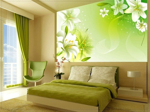Bamboo wallpaper 1 square meter wall painting wallcovering for Bamboo wallpaper for walls