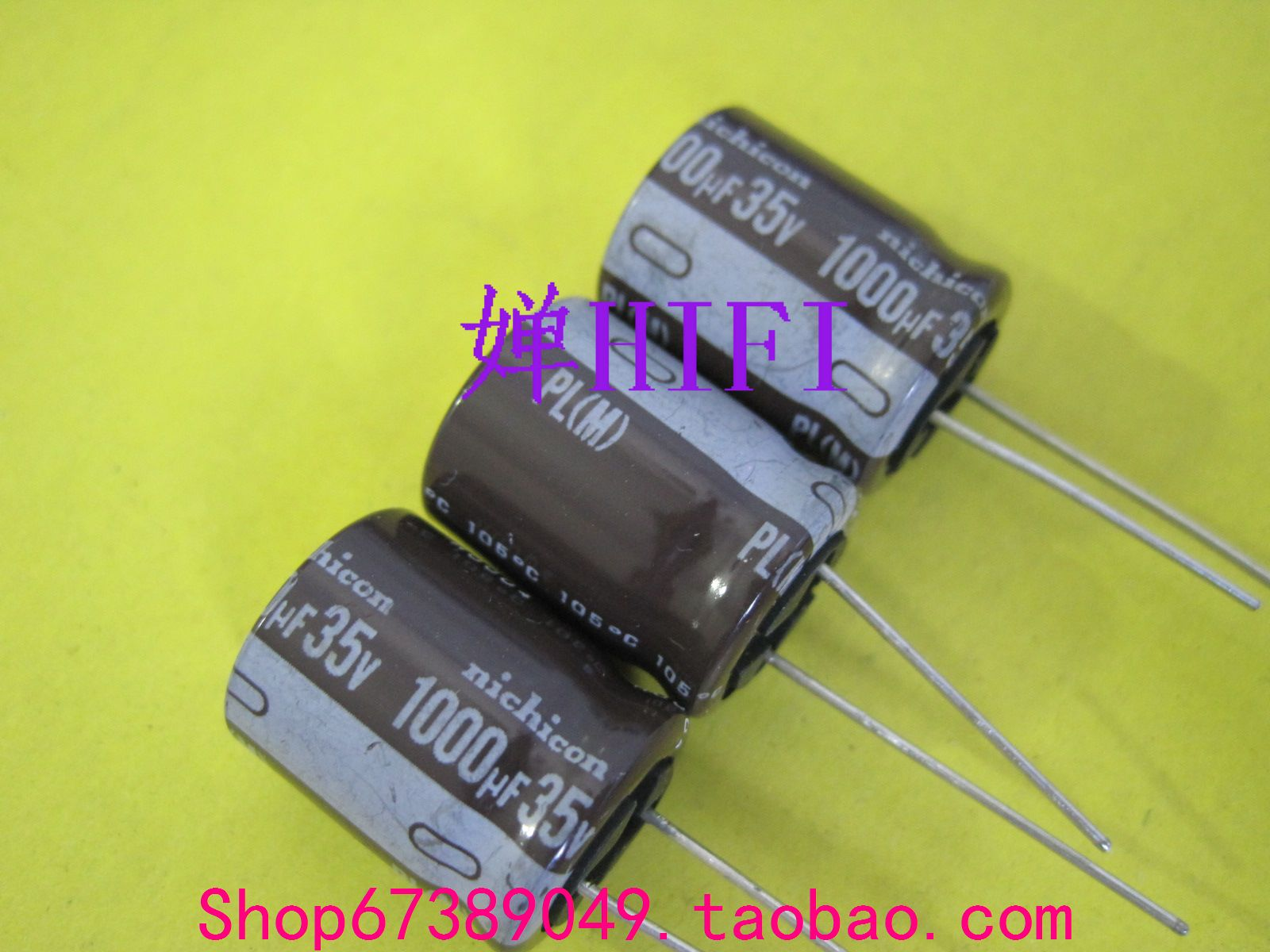 Здесь можно купить  200PCS PL nichicon authentic Japanese electrolytic capacitors 35v1000uf 16x20  free shipping  Электронные компоненты и материалы