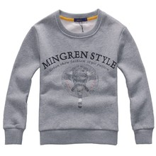 New 2016 Brand design Kids cotton Hoodies Fashion Sweater For Children Boys Girls Sweatshirt Pullover 3 Colors(China (Mainland))