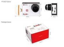 Free shipping Walkera iLook+ HD FPV Camera 5.8G Wireless Mushroom antenna for Walkera TALI H500 QR X350 Pro G-3D G-2D Gimbal