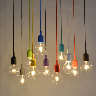2015 New!!Rainbow modern minimalist lighting living room bedroom Restaurant Bar decorative lamps Incandescent LED chandelier(China (Mainland))