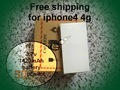 40pcs/lot 1420mAh Genuine Li-ion Mobile Phone Accessory Replacement Battery for iPhone 4 4G free shipping