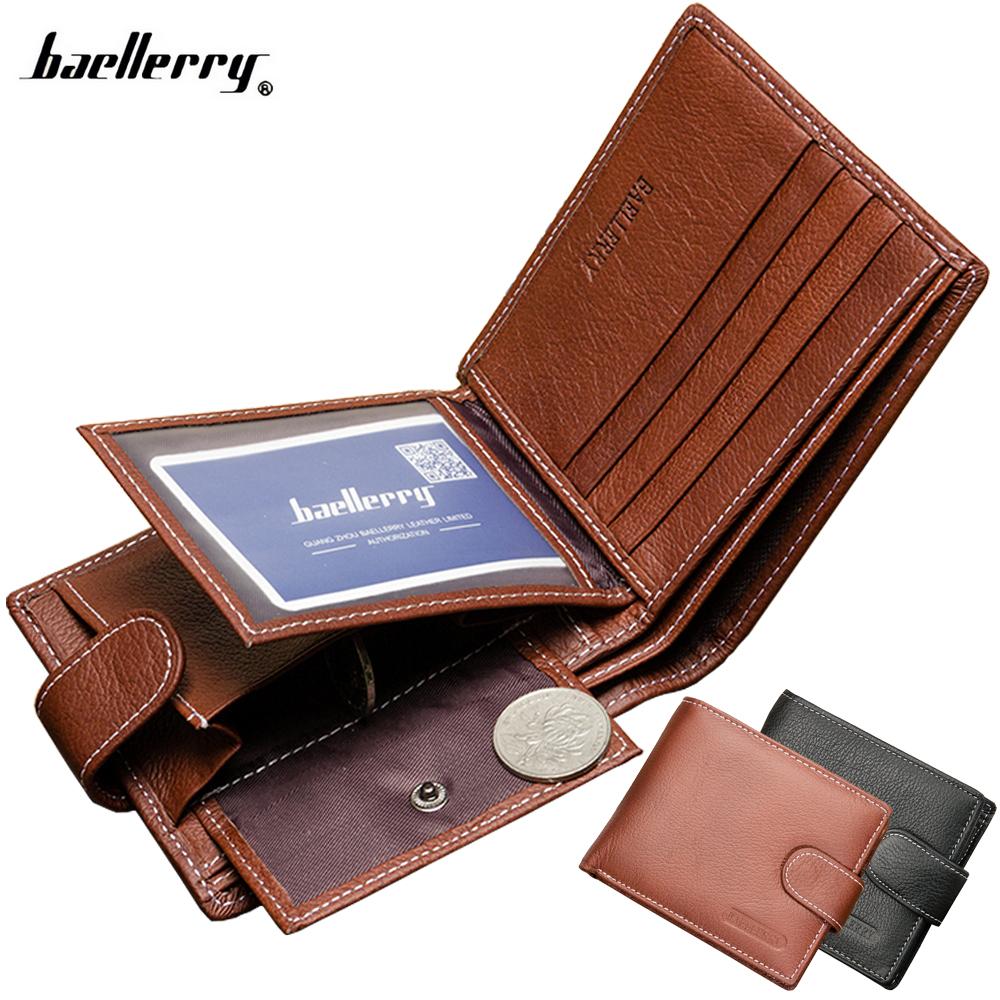 Mens Designer Leather Card Holder