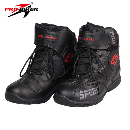 Free shipping PRO-BIKER A007 motorcyclists riding racing shoes boots warm boots popular brands Protection wearable / Black<br><br>Aliexpress