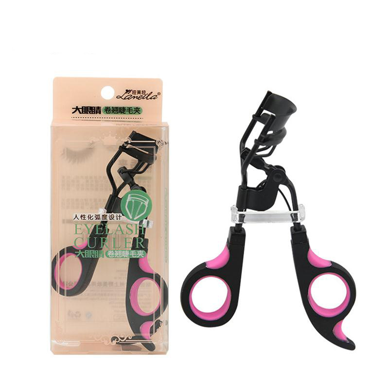 BLUEFRAG Beauty Tools Eyelash Curler Wonderful Pro Handle Lash Curler Nature Curl Style Cute Curl Eyelash Curlers For Lady