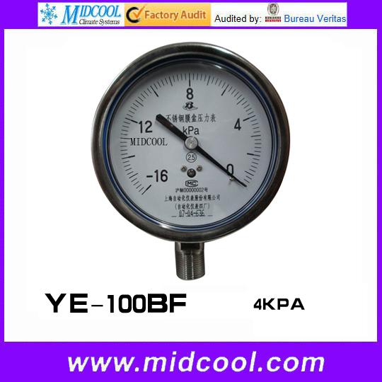 Здесь можно купить  4KPA pressure gauge YE-100BF 4KPA pressure gauge YE-100BF Инструменты