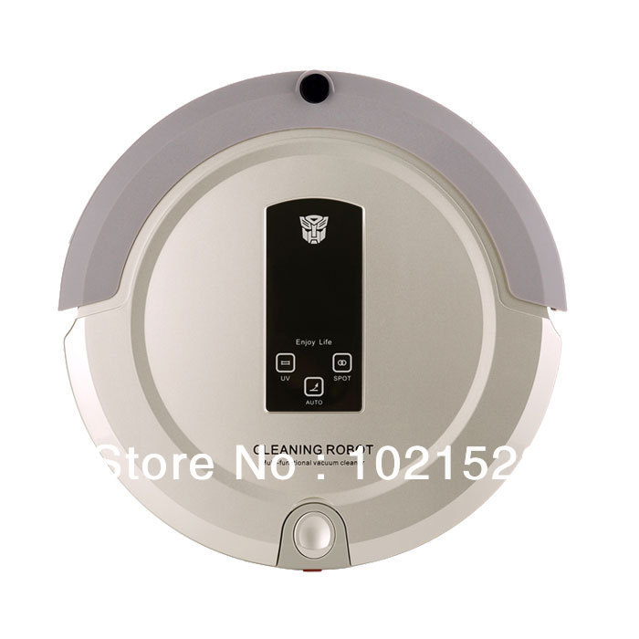 Multifunctional Robot Vacuum Cleaner A325 Auto Cleaning, Auto Sterilizing Strong Vacuum(China (Mainland))
