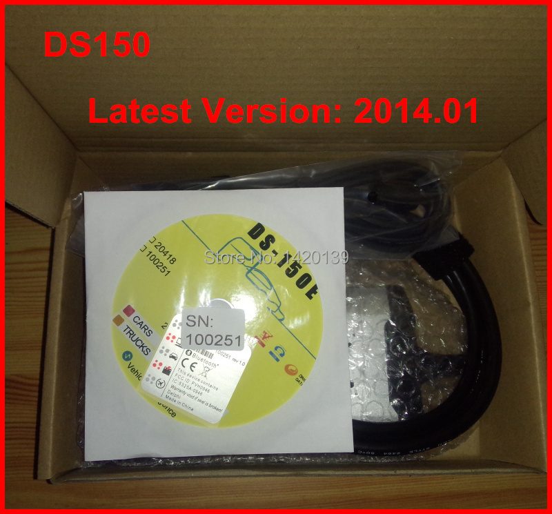 2014.1 DS150E New TCS CDP PRO Diagnostic Tool V2014.01 3 IN 1 ds150e Can Test CAR+TRUCK Years Warranty - SZ Electronic World store