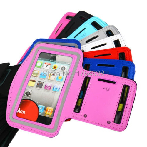 Waterproof Workout Arm Band for Apple iphone 4 Premium Running Jogging Sports GYM Case Cover Holder Pounch for iPhone 4 4G 4S(China (Mainland))