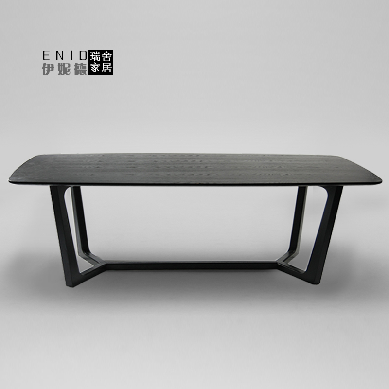 Swiss house Z-129 solid wood dining table dining table creative people dining modern minimalist new(China (Mainland))