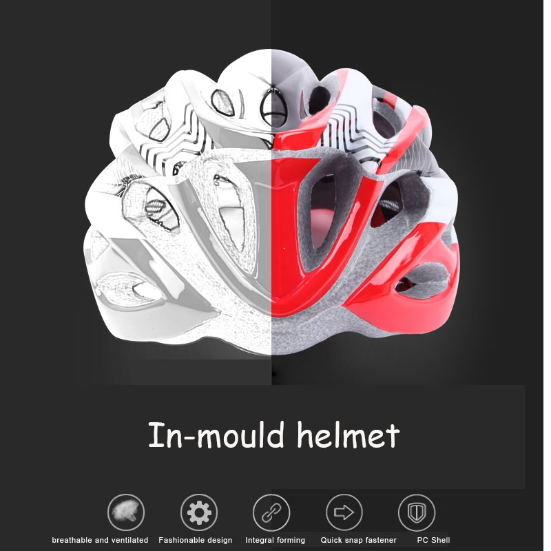 Benice brand in-mould unsex cycling helmet protect head with insect Net helmet equipped bicycle helmet 53-60cm for man and woman(China (Mainland))