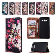 Luxury Leather Full Flower Diamond Case Samsung Galaxy J1 J2 J3 J5 J7 2016 Cover Phone Cases Fundas Capa - Ocean E-commerce store